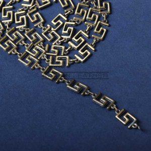 زنجیر کیف طرح دار سربی