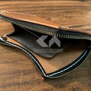 الگوی کیف جیبی زیپ دار