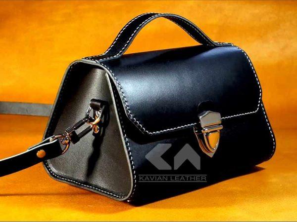 الگوی کیف دستی مجلسی زنانه چرم