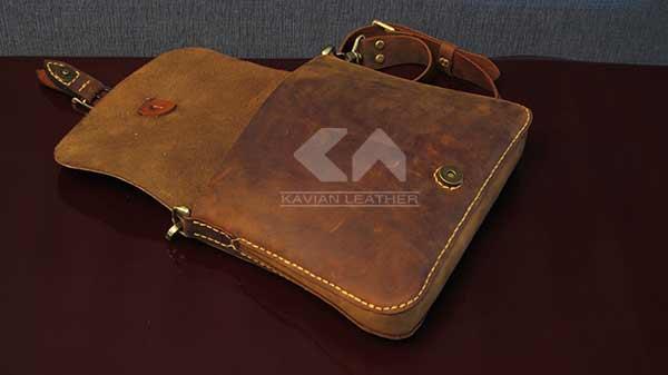 آموزش دوخت کیف زنانه دوشی چرم